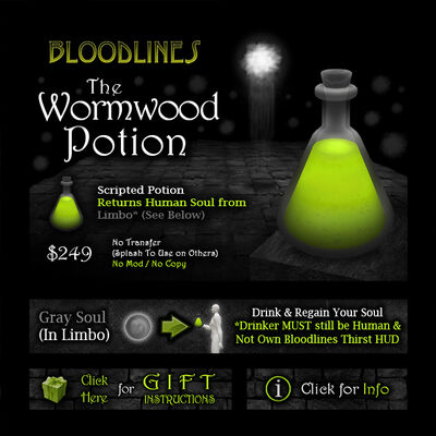 Product wormwood