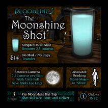 Product moonshineshot