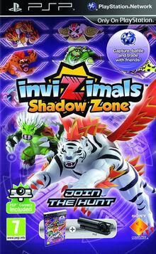 InviZimals- Shadow Zone Box Art
