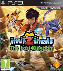 InviZimals- The Lost Kingdom Box Art