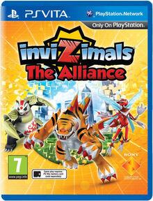 InviZimals- The Alliance Box Art