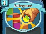 Defragment