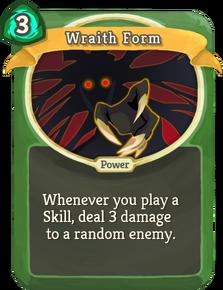 R wraith-form