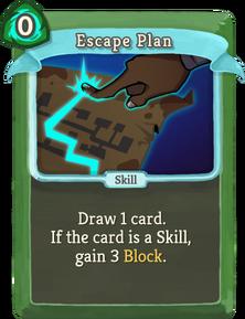 R escape-plan