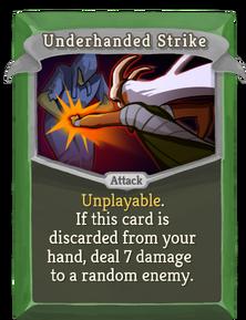 R underhanded-strike