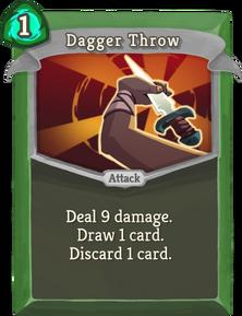R dagger-throw