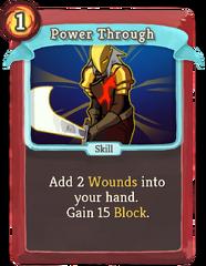PowerThrough