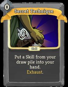 SecretTechnique