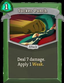 R sucker-punch