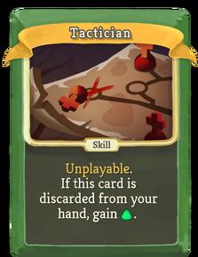 R tactician