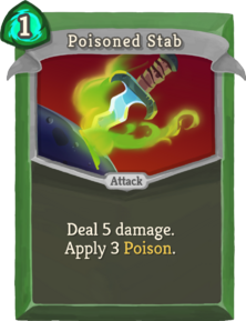 R poisoned-stab