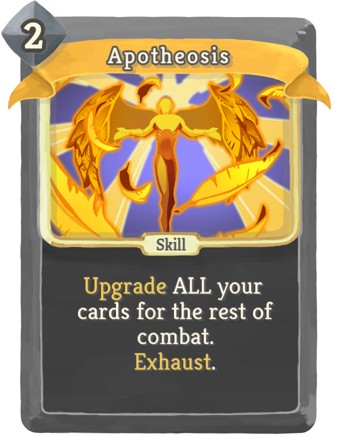 Image result for apotheosis slay the spire