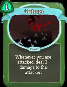 R caltrops