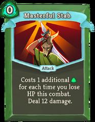 MasterfulStab