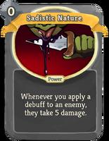 SadisticNature
