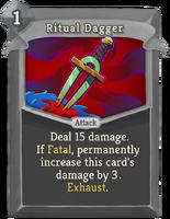 RitualDagger