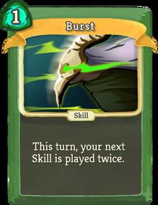 R burst