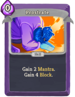 Prostrate