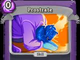 Prostrate