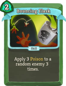 R bouncing-flask