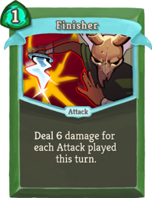R finisher