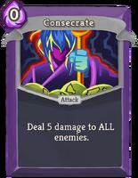 Consecrate