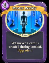 MasterReality