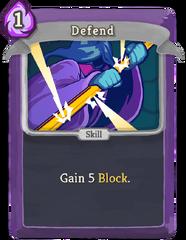 Defend P
