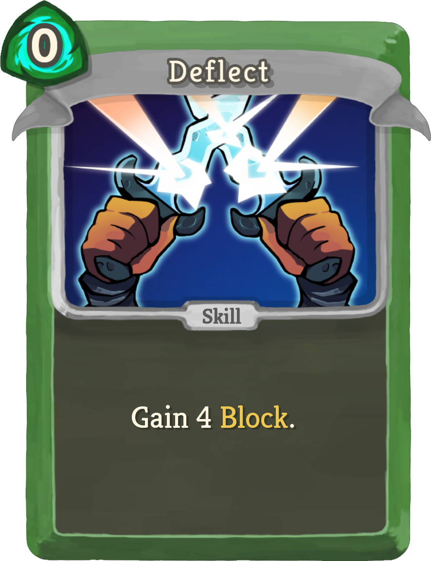 Image result for deflect slay the spire