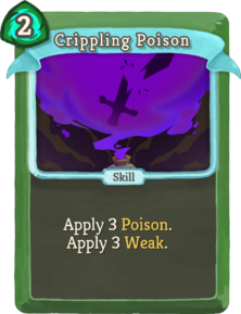 R crippling-poison