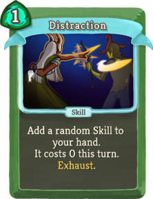 R distraction