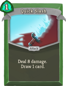 R quick-slash