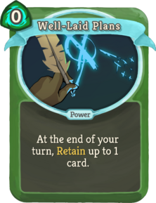 R well-laid-plans