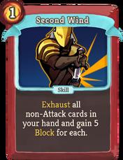 W second-wind