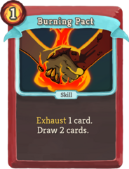 W burning-pact