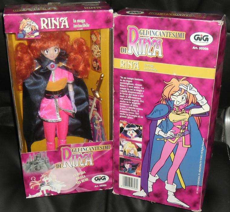 Lina Inverse GIG Doll - Italy 1