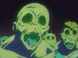 Undead zombie