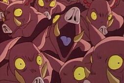 Humanoids orcs