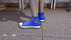 JJiggler Canvas Sneakers Blue Left