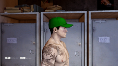 Baseball Cap Green Right