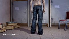 HangSui Baggy Jeans Black Back