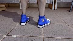 JJiggler Canvas Sneakers Blue Back