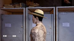 Panama Hat Left