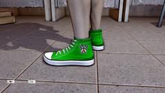 JJiggler Canvas Sneakers Green Left
