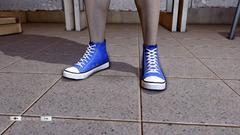 JJiggler Canvas Sneakers Blue Front
