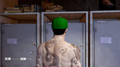 Baseball Cap Green Back