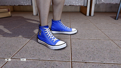 JJiggler Canvas Sneakers Blue Right
