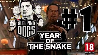 Sleeping Dogs Year Of The Snake DLC Walkthrough Part 1 HD No Commentary