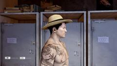 Panama Hat Right