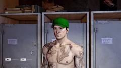 Baseball Cap Green Front
